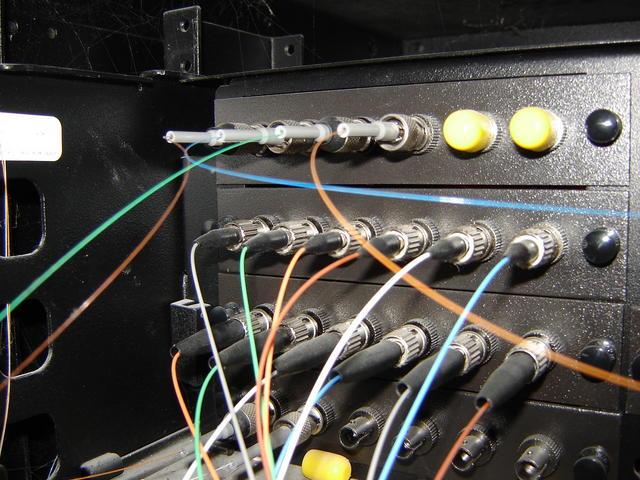 Wiring inside the UTM