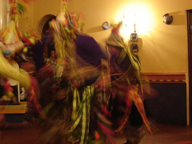 Dancing and fighting a Tinkuy