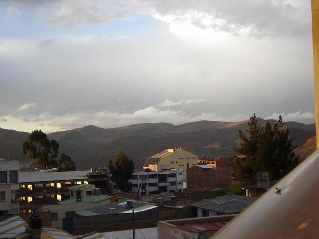 Potosí, from my hotel room