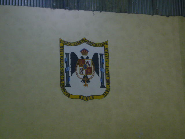 The Potosí coat of arms... So Spanish, so Spanish it hurts :)