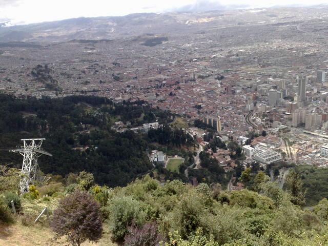 Bogotá, from Monserrate