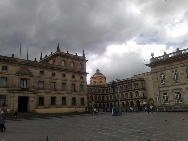 Bogotá main square