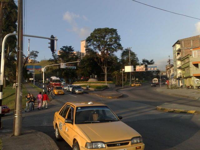 Walking around Manizales