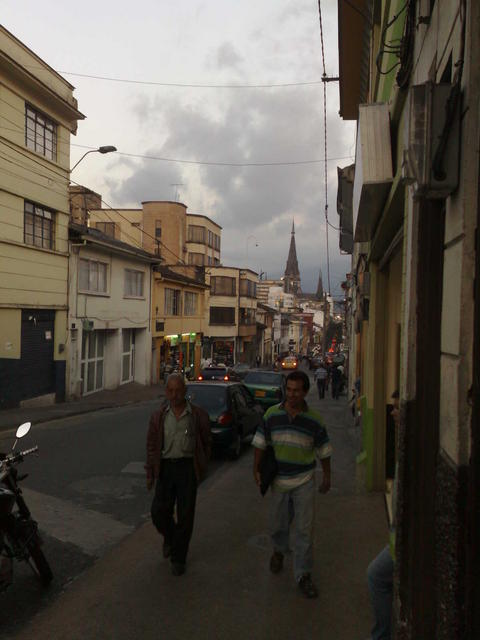 Walking around Manizales