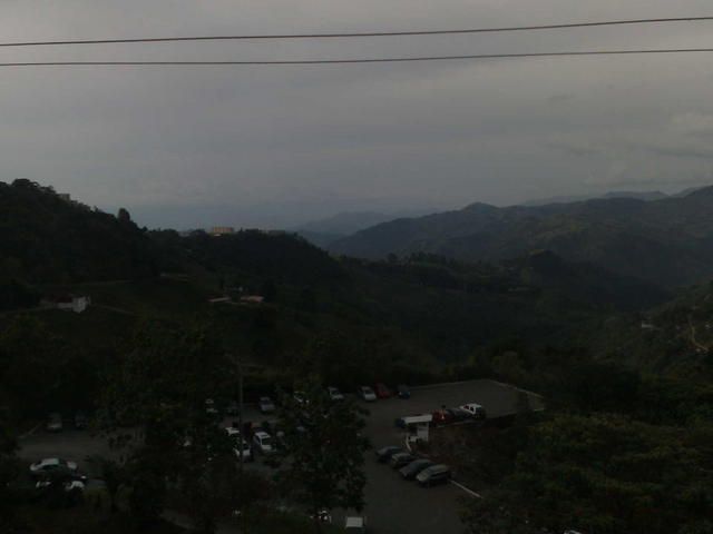 Northwards, from the Speakers' Room, Manizales University