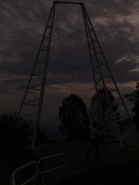 Torre al Cielo, at Chipre, Manizales' viewpoint