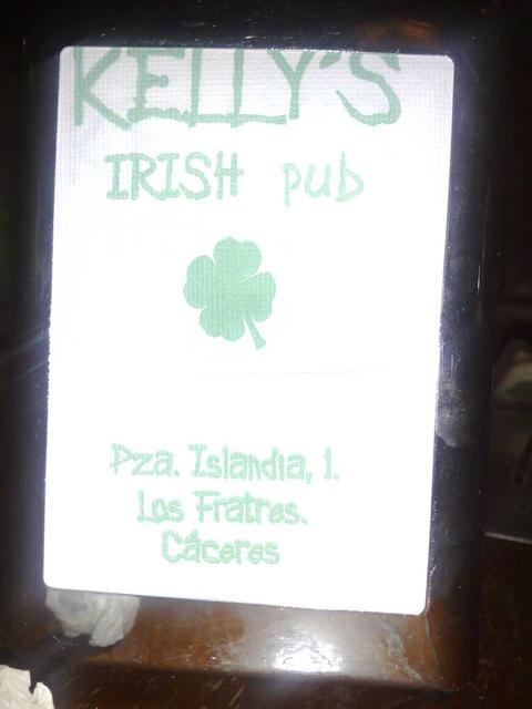Irish pub in Cáceres