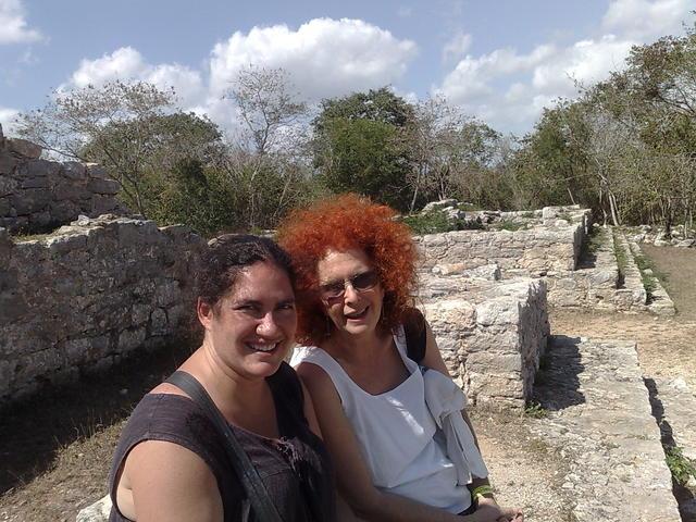 Regina and aunt Zoraida