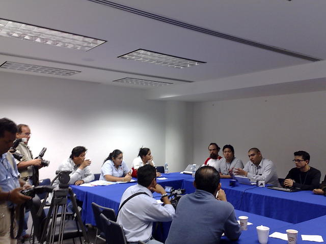 Press meeting
