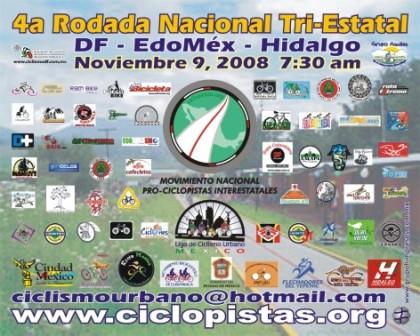 4ª Rodada Nacional Tri-Estatal México-Pachuca