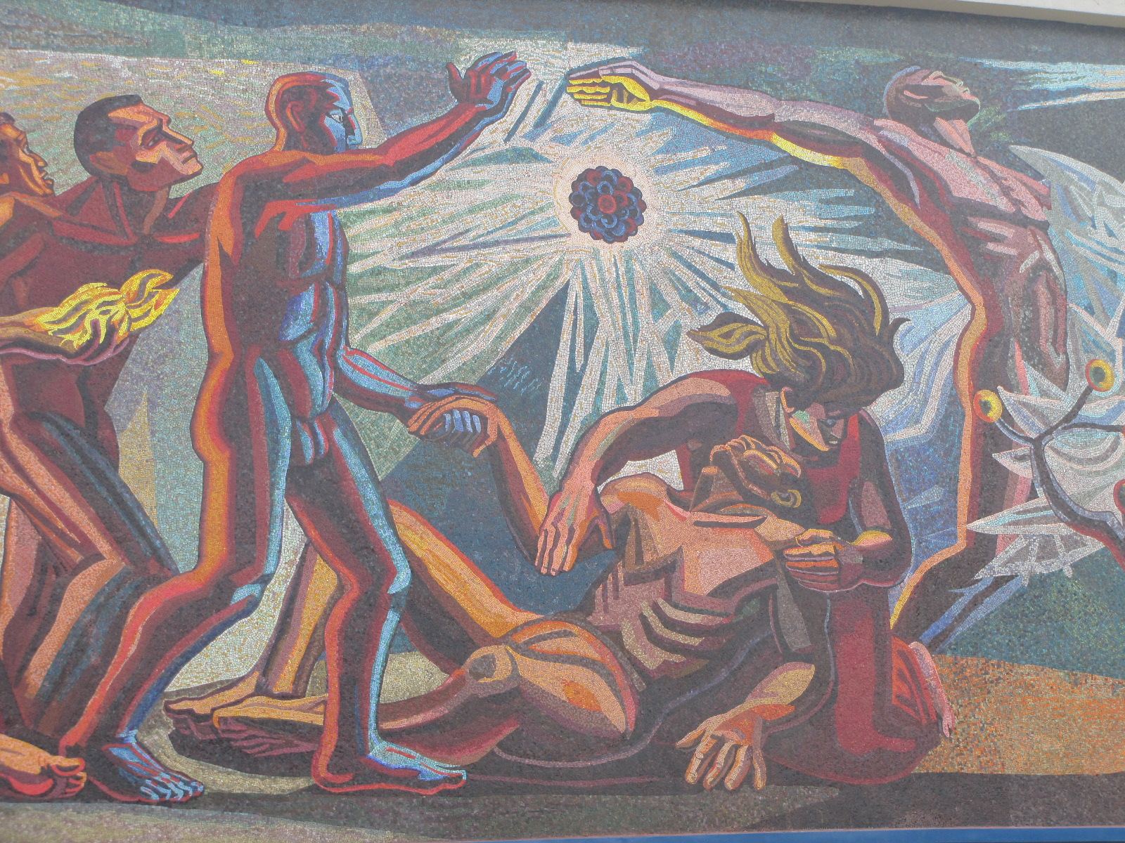 The Conquest of Energy (detail)