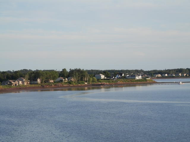 The red sands of Prince Edward Island