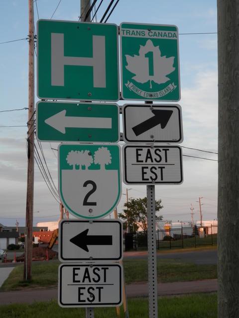 Strange directions...