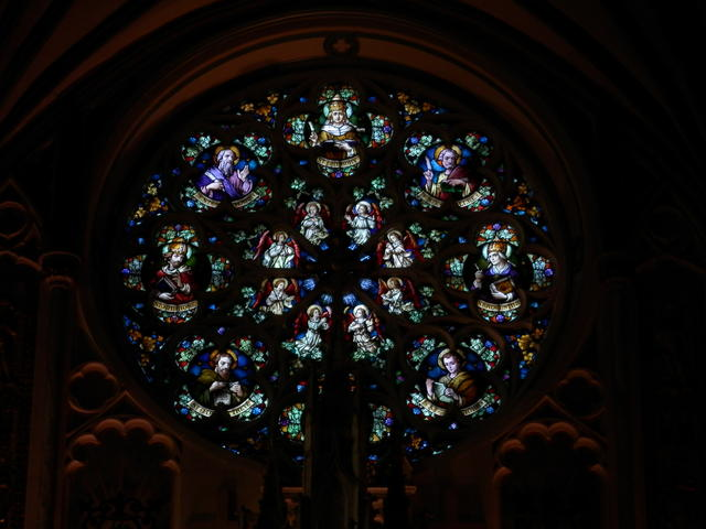 Inside St. Dunsten's basilica