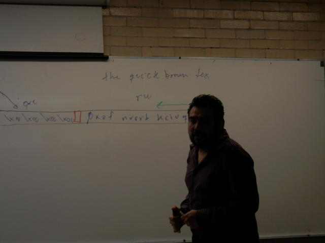 Sandino explains what a buffer overflow looks like