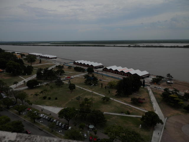 "From the ""Monumento a la Bandera"" viewpoint, downtown Rosario"
