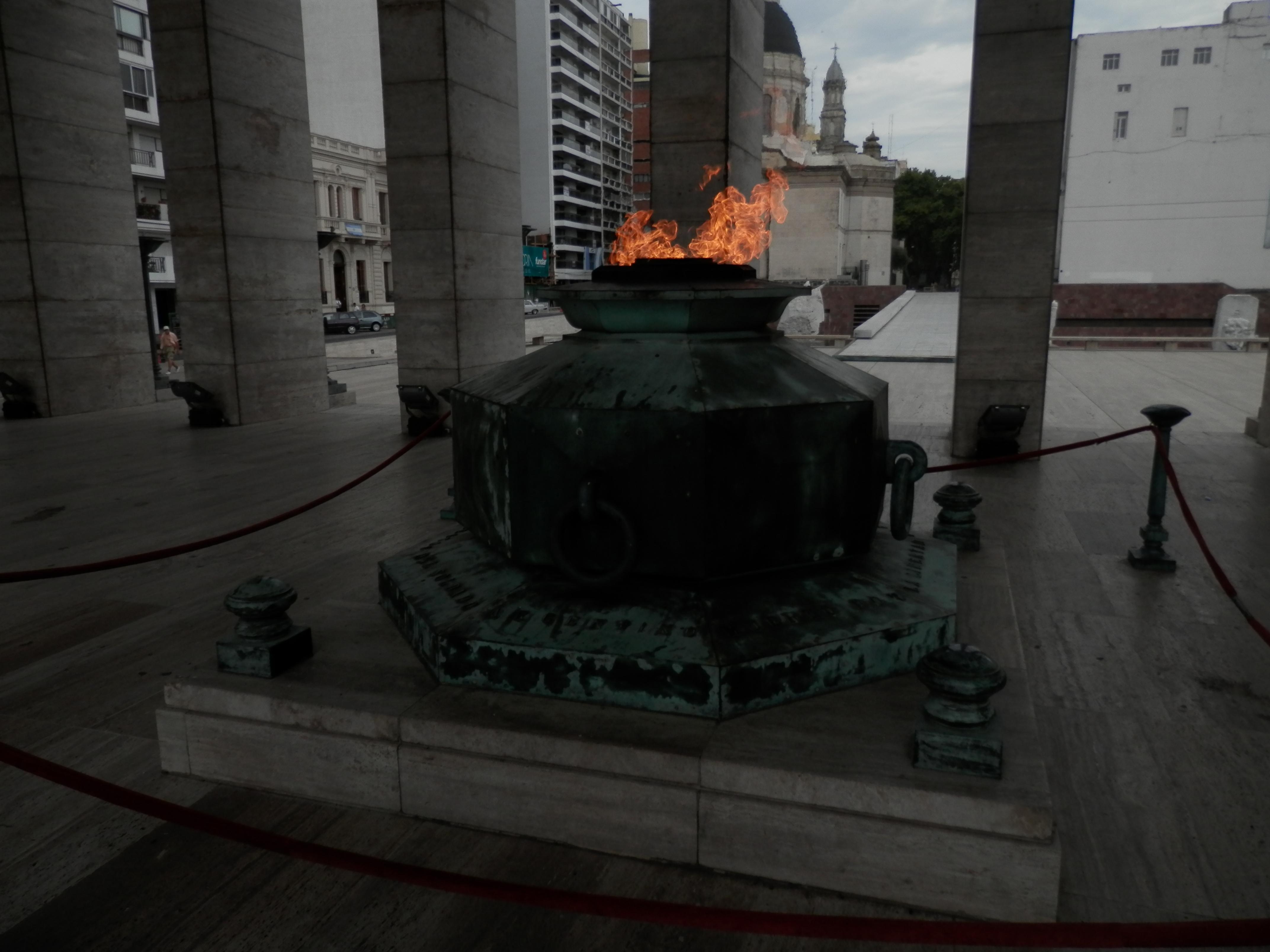 "From ""Monumento a la Bandera"", downtown Rosario"