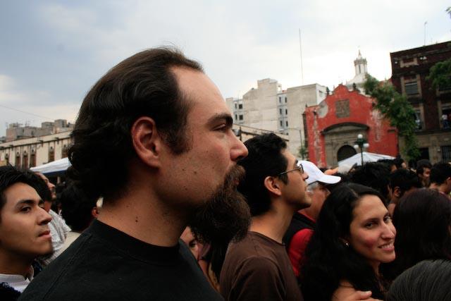Among the crowd