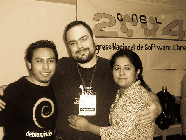 CONSOL 2004 – With Roa and Cloe