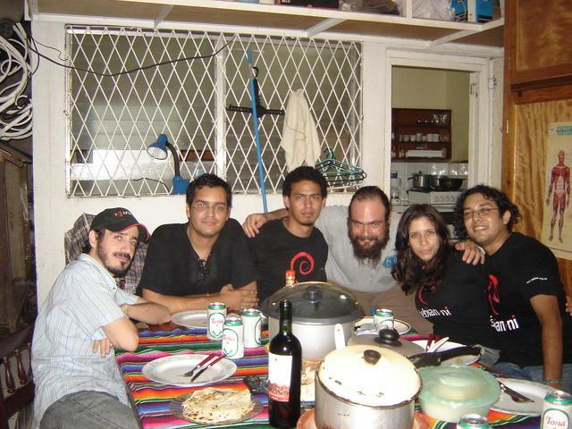 Leo, Norman, Jimbo, Gunnar, Diana, Dennis