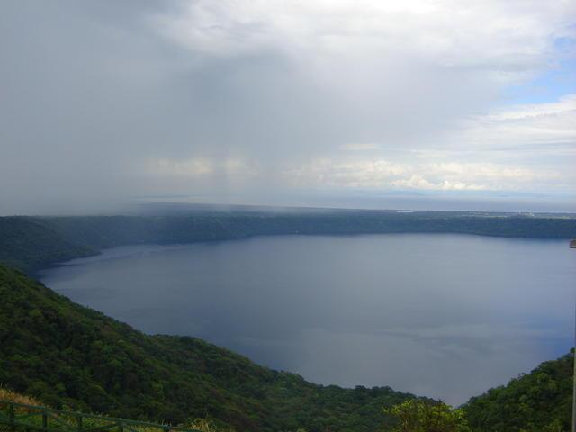 Apoyo lake, from the Catarina viewpoint