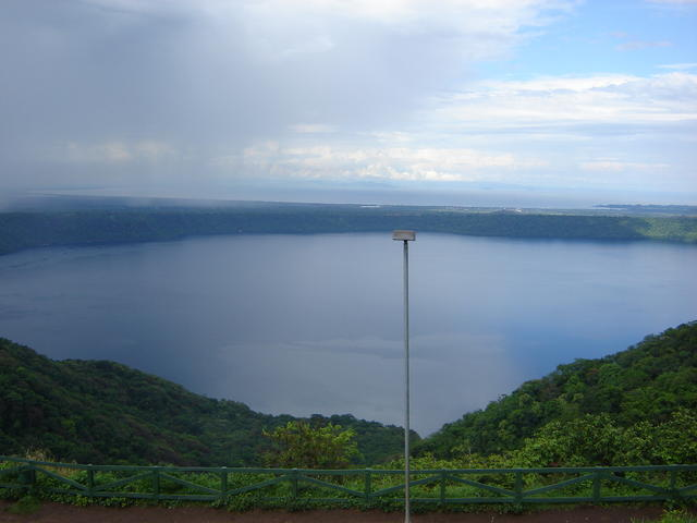 Apoyo lake, from the Catarina viewpoint