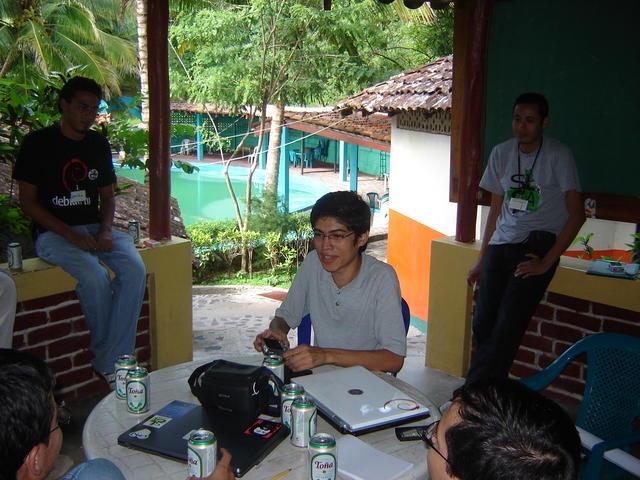 During the Debian Communities meeting