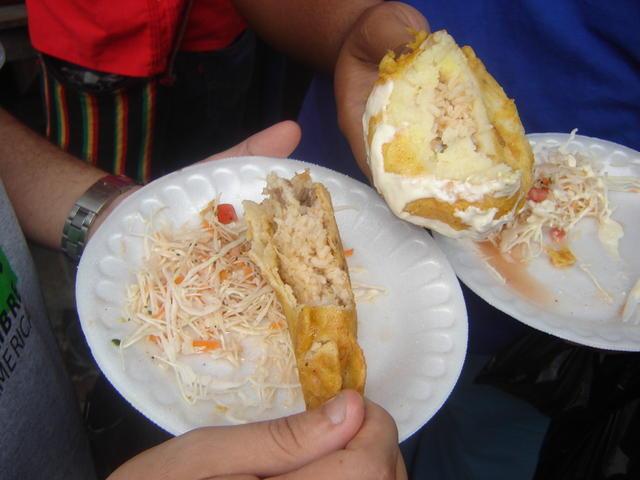Nicaraguan fast food