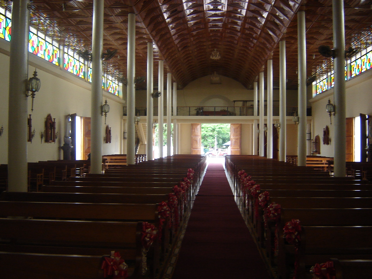 Inside the Estelí cathedral