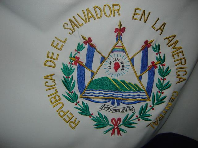 Salvadorean flag's emblem