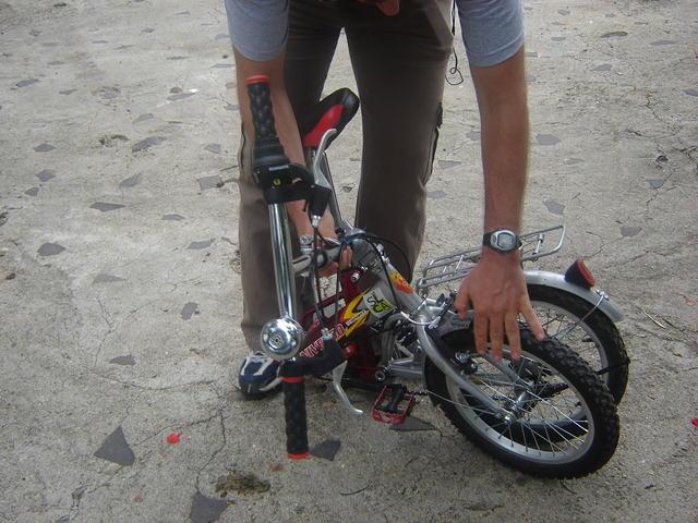 Of course, I took my foldable bike to Nicaragua