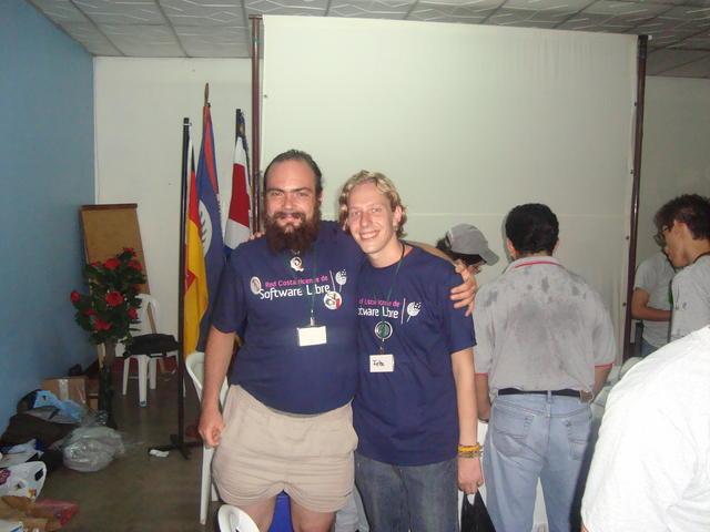 With Felix, German Drupal developer living in Granada, Nicaragua