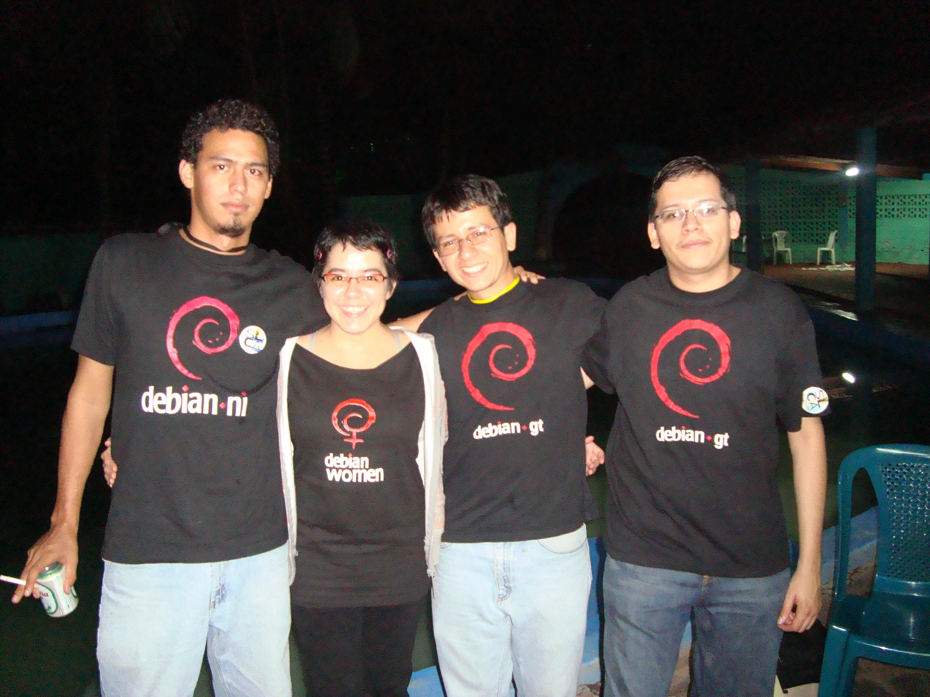 Debian/rules Central America!