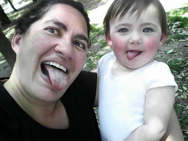 Elena and Mom