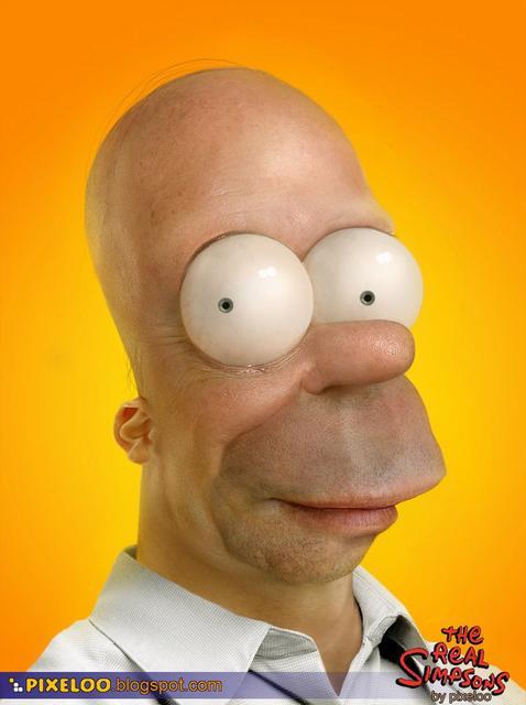 Real Homer!