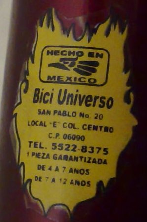 Bici Universo - 4 to 12 year old