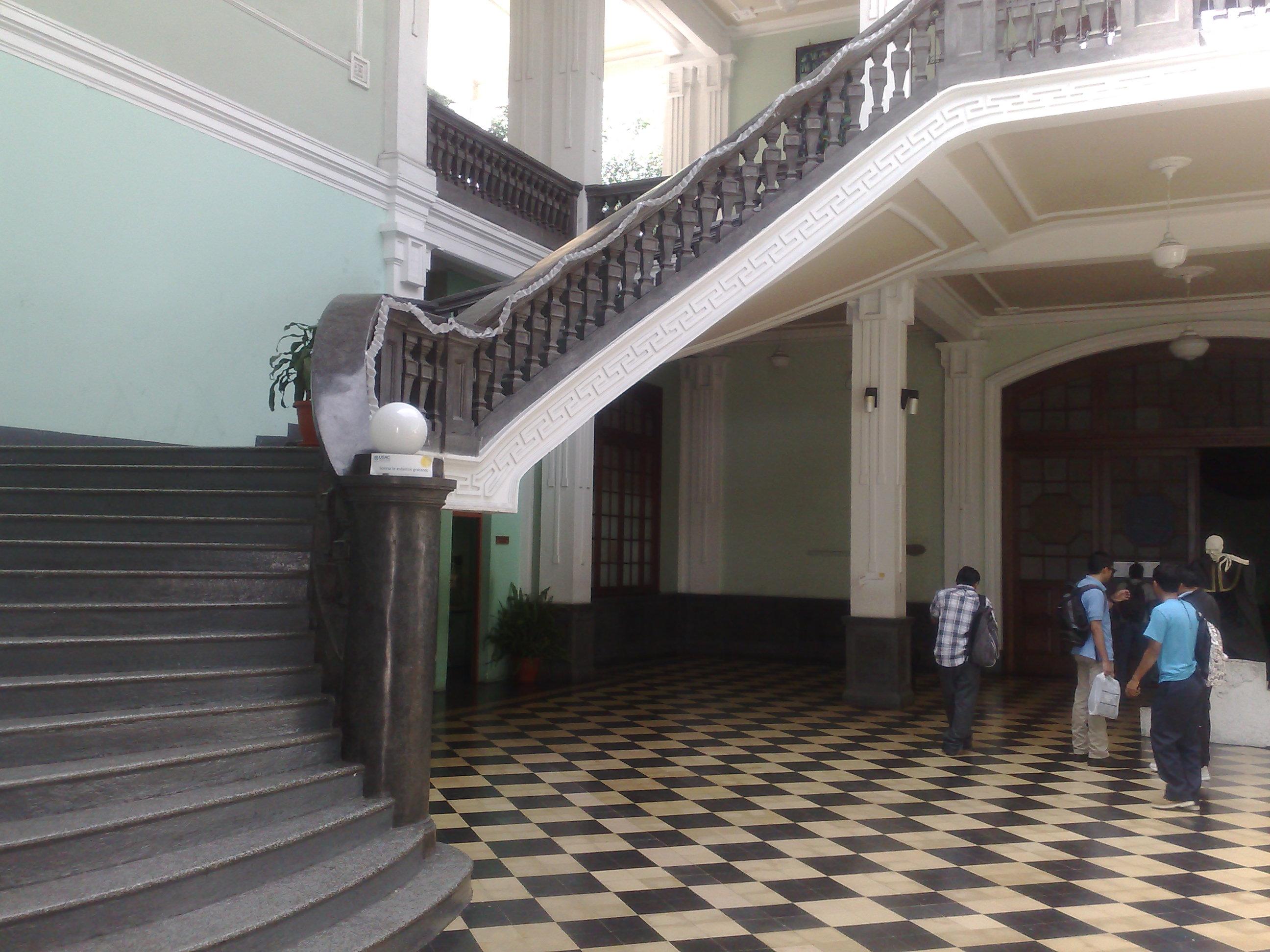 Entrance to the Paraninfo Universitario, Guatemala