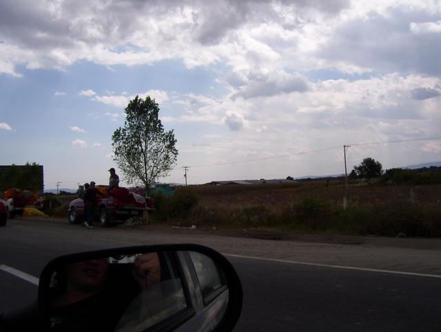 Mexico-Puebla highway