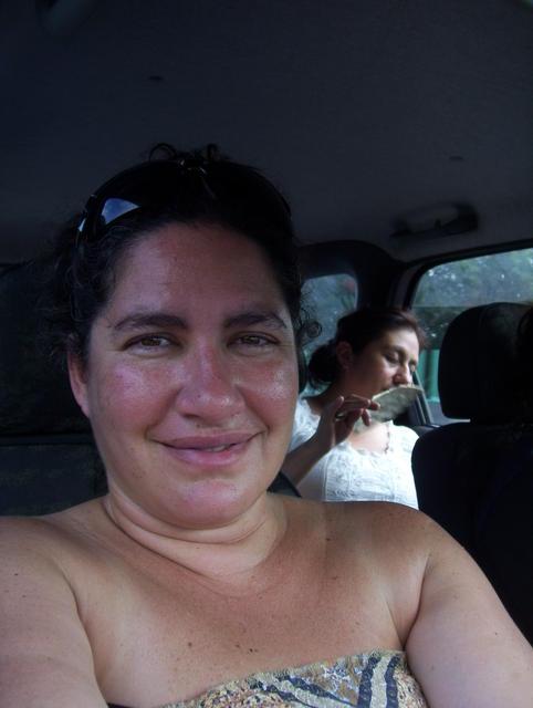 Crossing Veracruz... Warm, humid, we were all sweaty by then