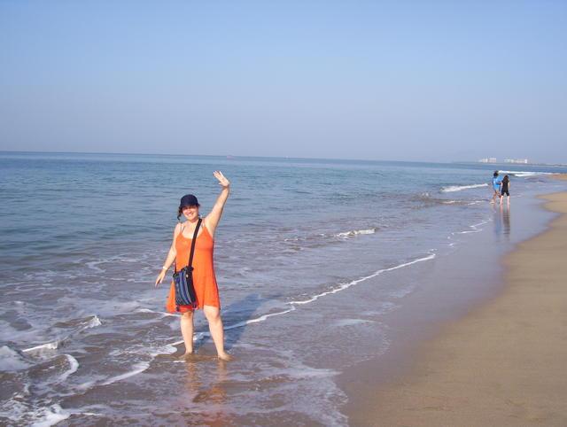 Regina meets the Pacific Ocean!