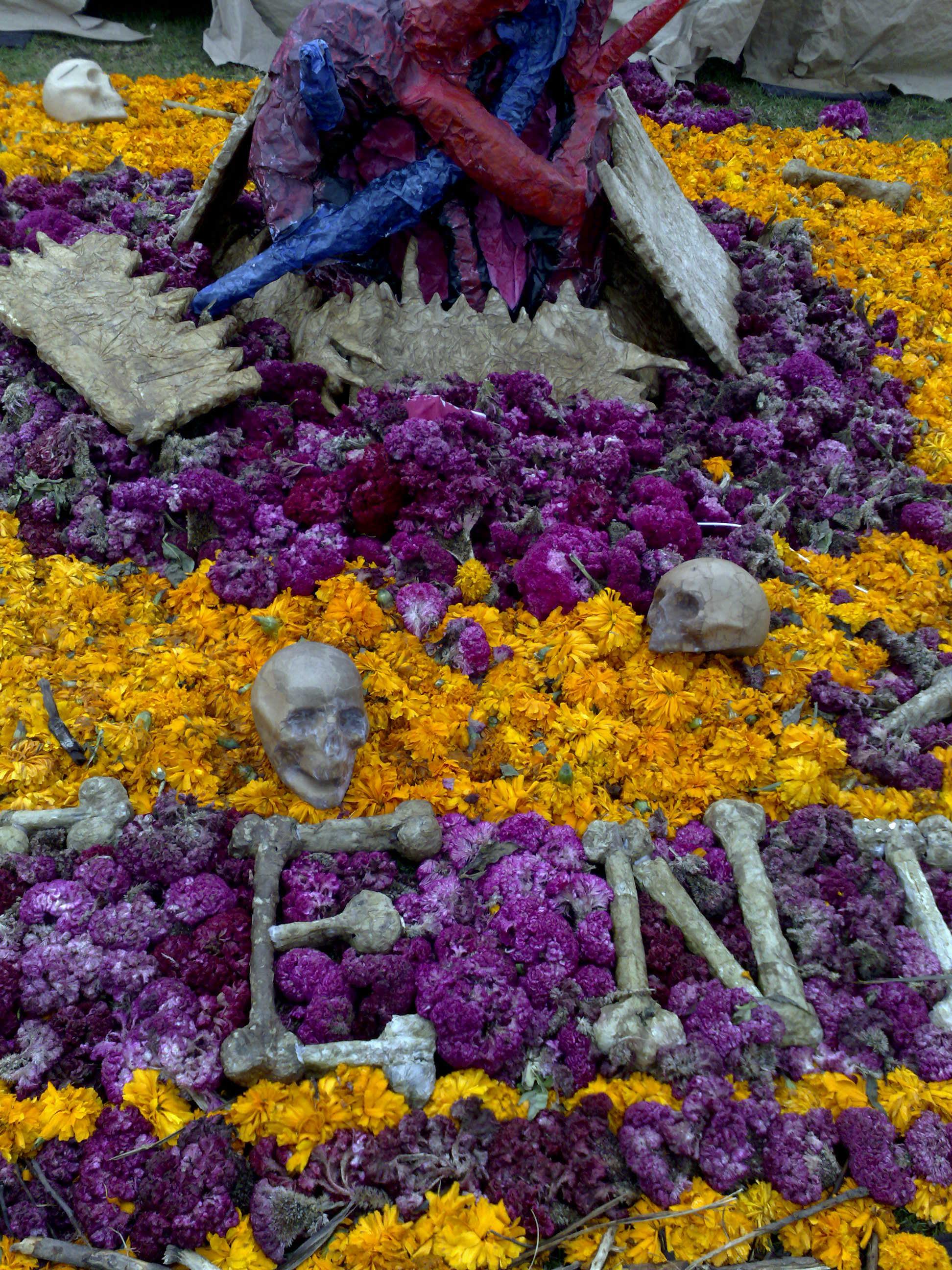 Altars in Megaofrenda UNAM 2009