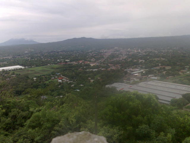 From the Coyotepe fortress and prision
