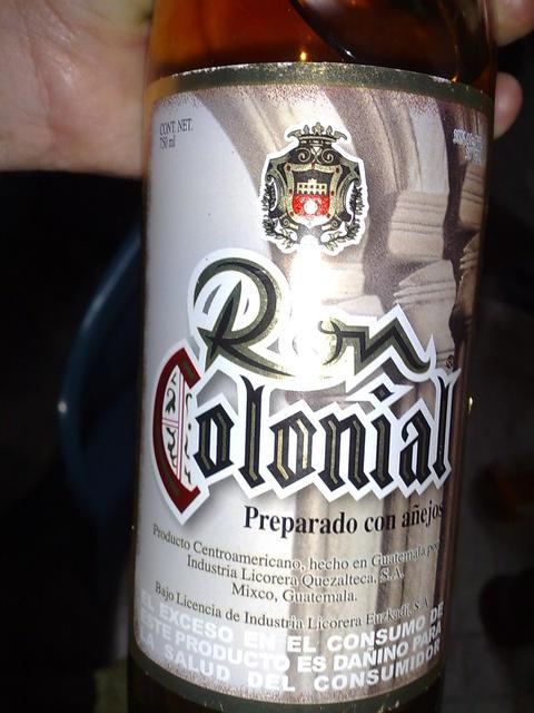 Guatemalan Colonial rum