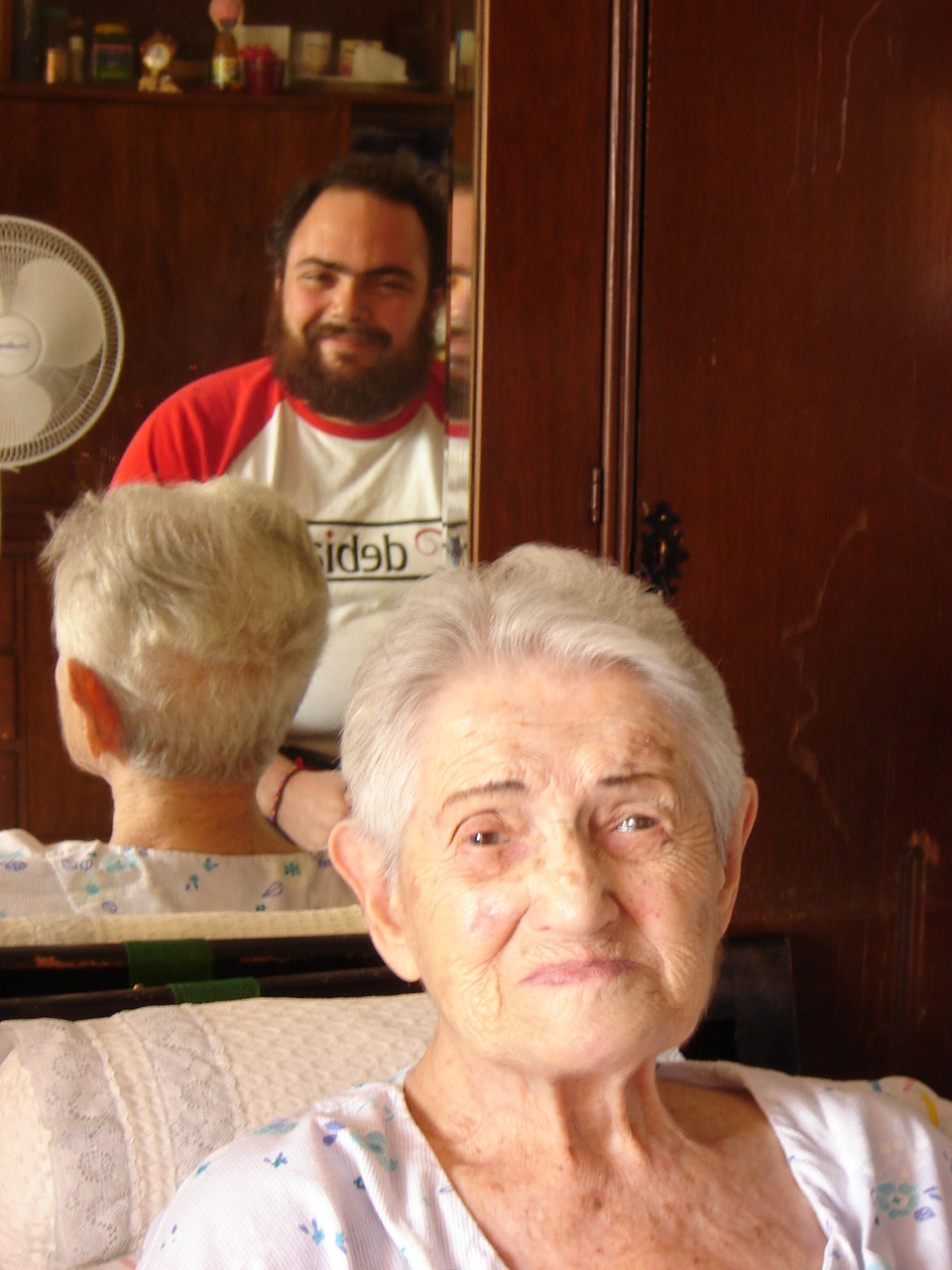 With my great-aunt