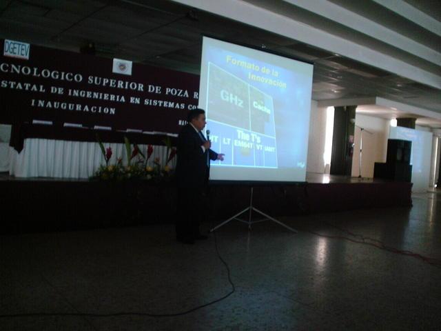 Poza Rica 31/05/05: The Intel conference