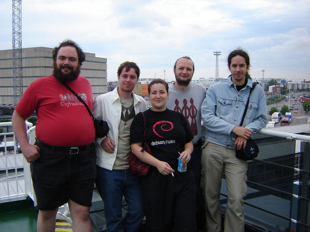 The intrepid guys who went to Talinn