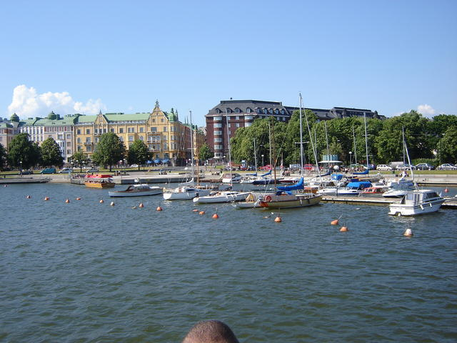 Helsinki, on our way back to HUT