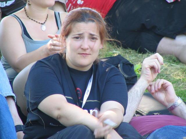 Amaya at the picnic