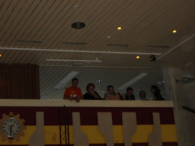 The Upstairs Cabal, at the formal dinner