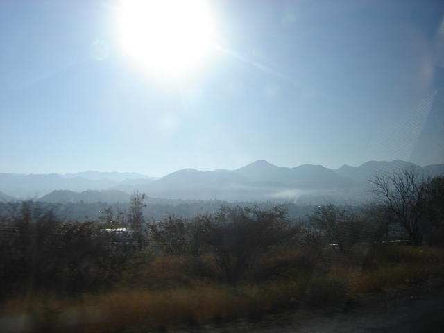 Beautiful and sharp mountains in the Mixtec